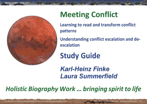 Meeting Conflict - Study Guide